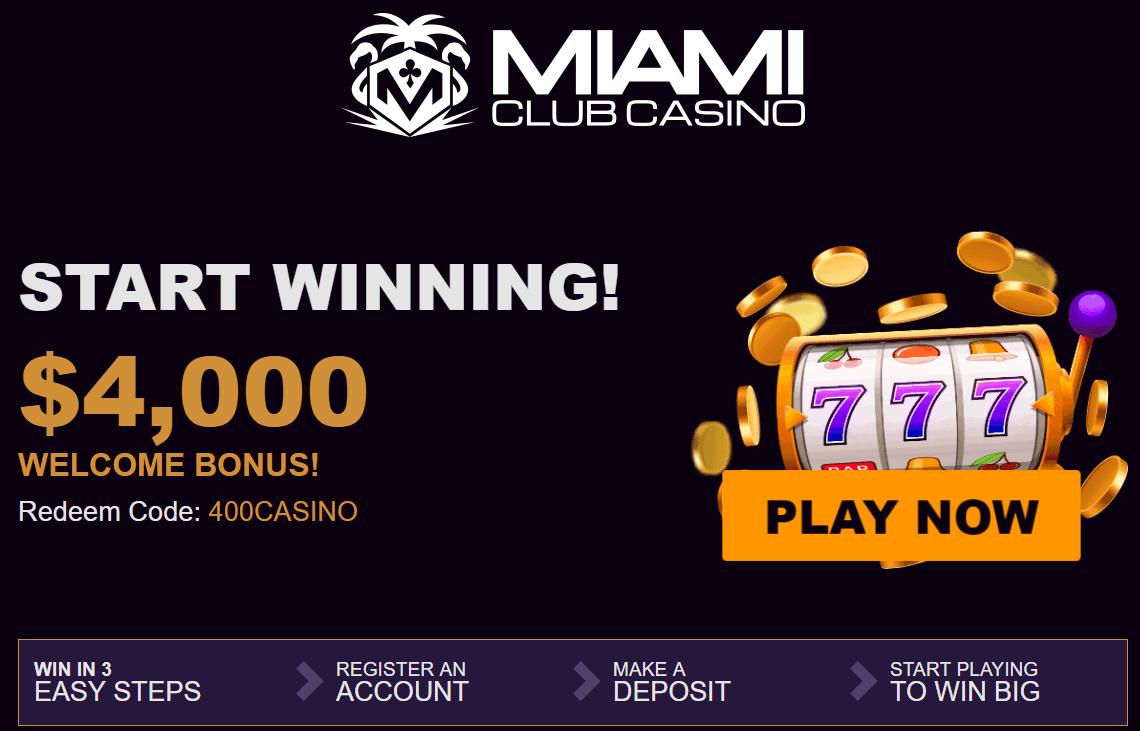 Miami Club bonus