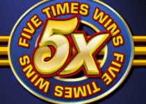 Five Times Wins Online Slot Game